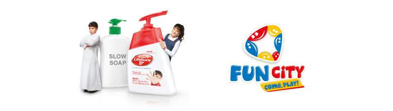 Protect yourself against germs with Lifebuoy, and win free rides at Fun City